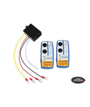 Set 2 telecomandi senza fili per verricello elettrico 12V