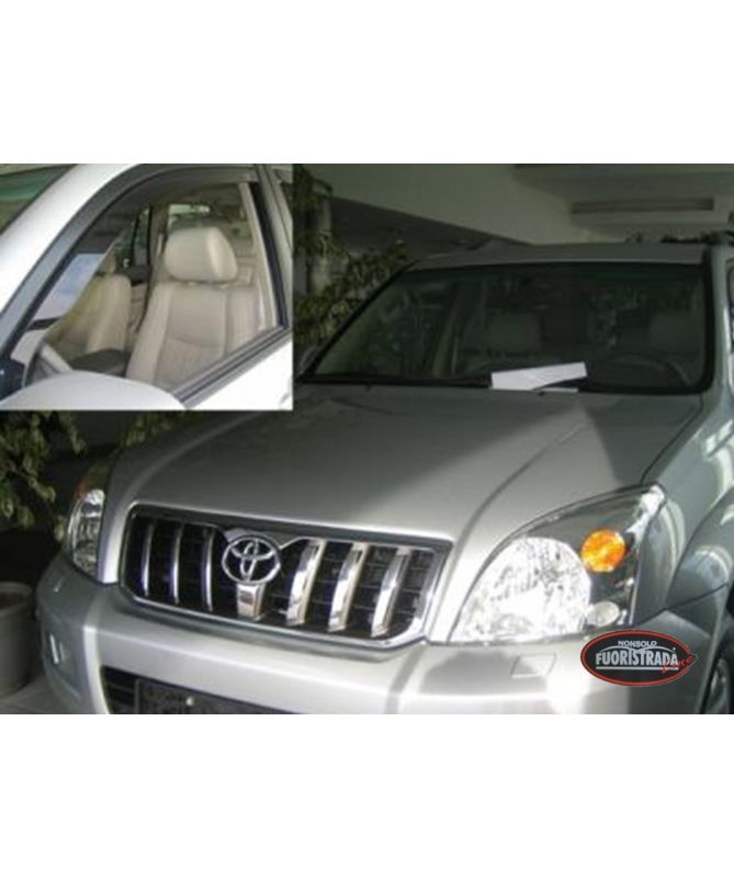 Deflettori Aria Toyota Land Cruiser KDJ 120 5 Porte