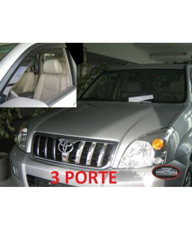 Deflettori Aria Toyota Land Cruiser KDJ 125 3 Porte