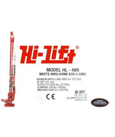 Binda Hi Lift (Mod. HL-485)