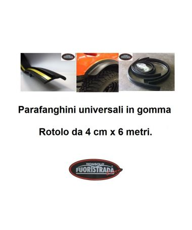 Parafanghini in Gomma Da 4 Cm x 6 Metri