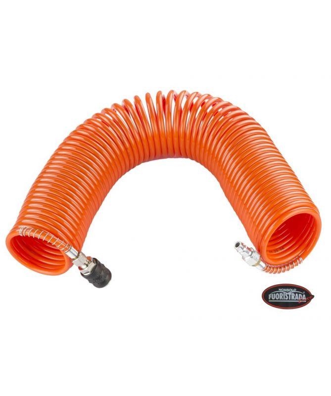 Tubo spirale 15 metri attacco rapido