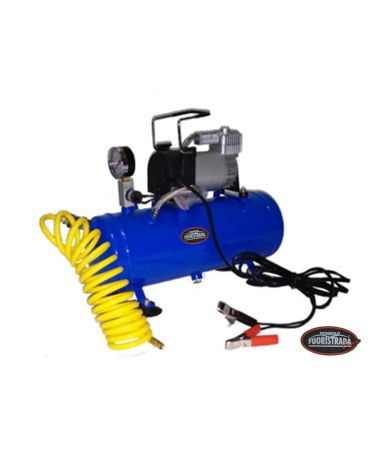 Compressore d'aria 12V con bombola