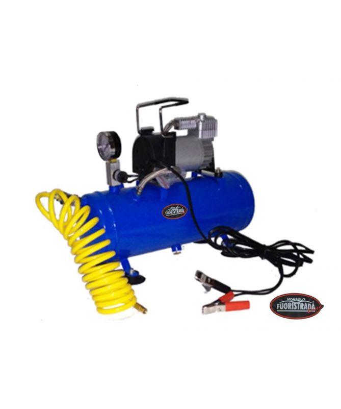 Compressore d'aria 12 V con bombola
