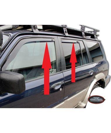 Deflettori Aria Nissan Patrol Gr Y61 3/5 Porte