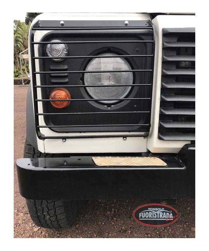 Coppia Griglie Parafari Anteriori Ribaltabili Land Rover Defender