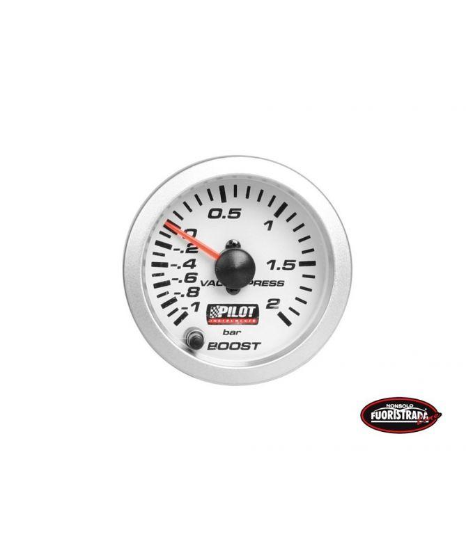 Manometro pressione turbo luce 7 colori a led (52mm)