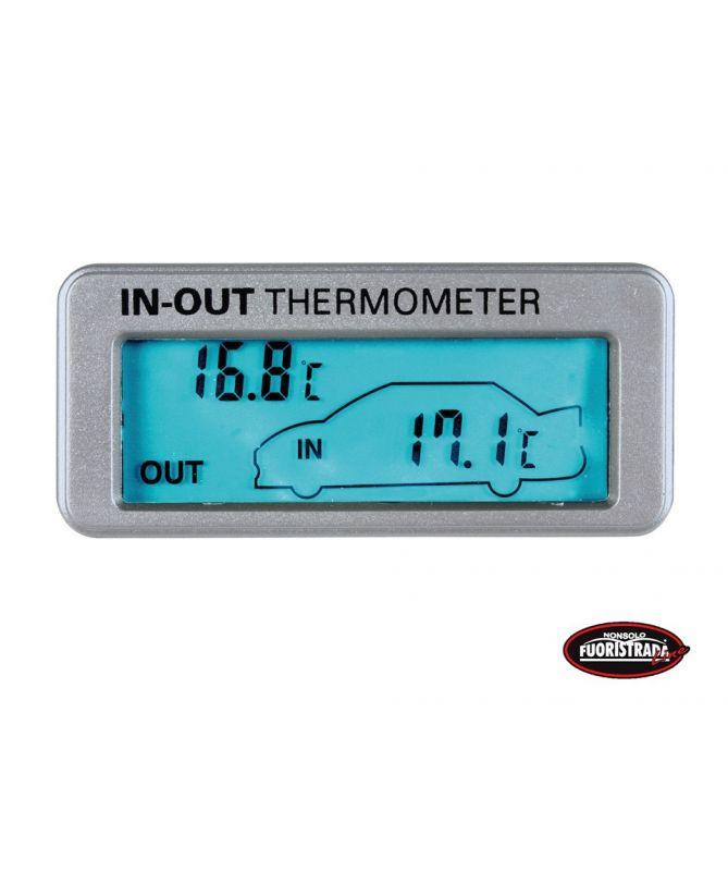 Termometro interno ed esterno  12/24V