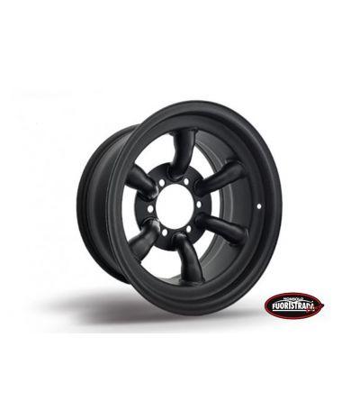 Cerchio 16x8 ET -30 Tracrock Nero Per Nissan