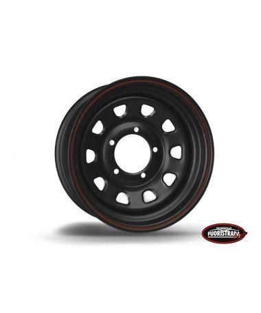 Cerchio Daytona Nero In Acciaio 15X6 ET -12