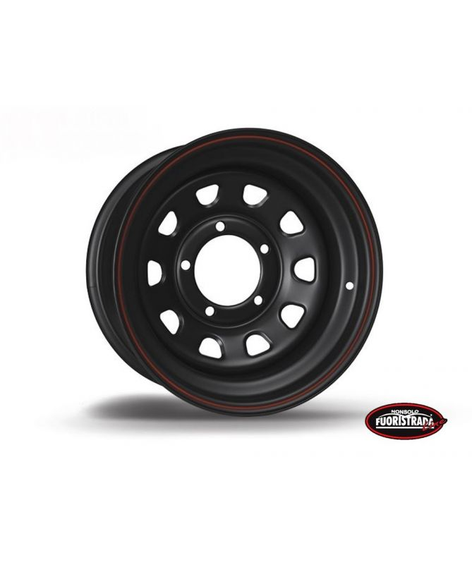 Cerchio Daytona Nero In Acciaio 5X15 -12