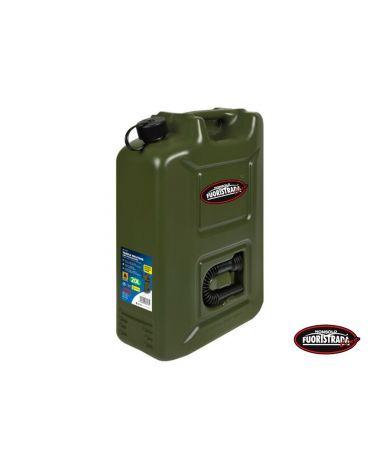 Tanica carburante in polietilene modello militare 20 L