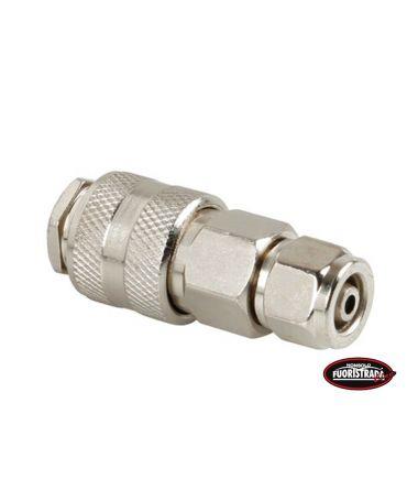 Connettore Aria per tubo Ø 8 mm ad attacco rapido Femmina