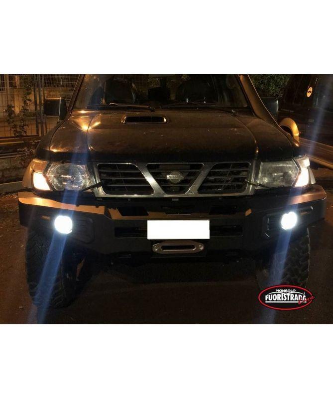 Paraurti Anteriore Nissan Patrol GR Y61 con Portaverricello