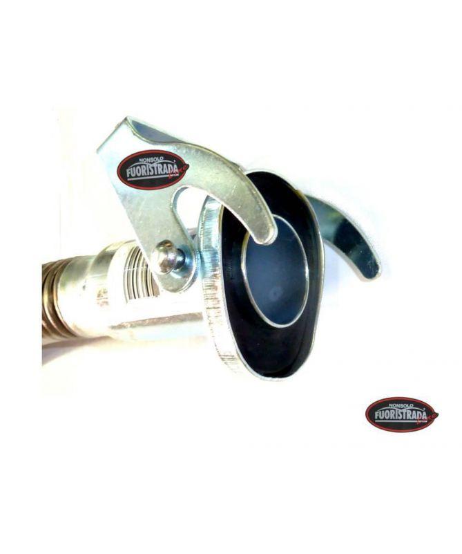 Travasatore Per Tanica In Metallo Di Tipo Flessibile