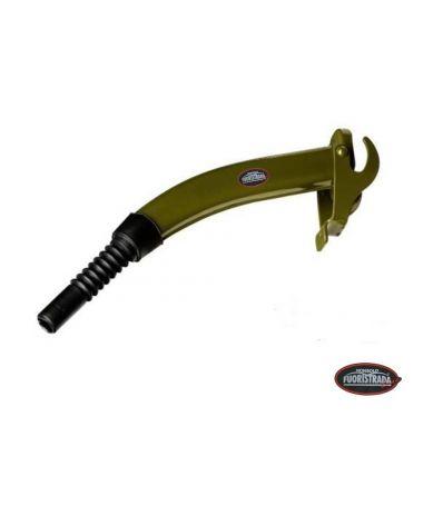 Travasatore Per Tanica In Metallo Di tipo Rigido (Verde)