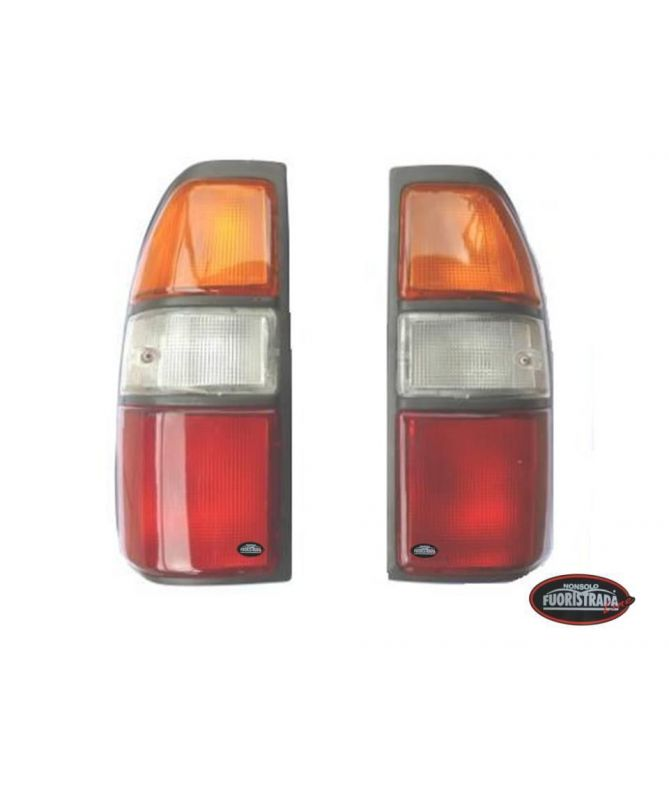 Coppia Di Fanali Posteriori  Per Modifica  4 luci Toyota  Land Cruiser KZJ –KDJ 90/95