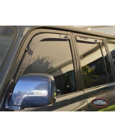 Deflettori Aria Toyota Land Cruiser 80 Ant. + Post.