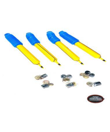 Kit 4 Ammortizzatori +5Cm Serie Yellow