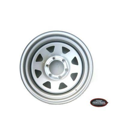 Cerchio Dotz Dakar 7x16  OFFSET-20  6 fori  Grigio