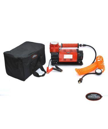 Compressore d'aria 12V, portata aria 160 Lt./min, pressione 10 bar