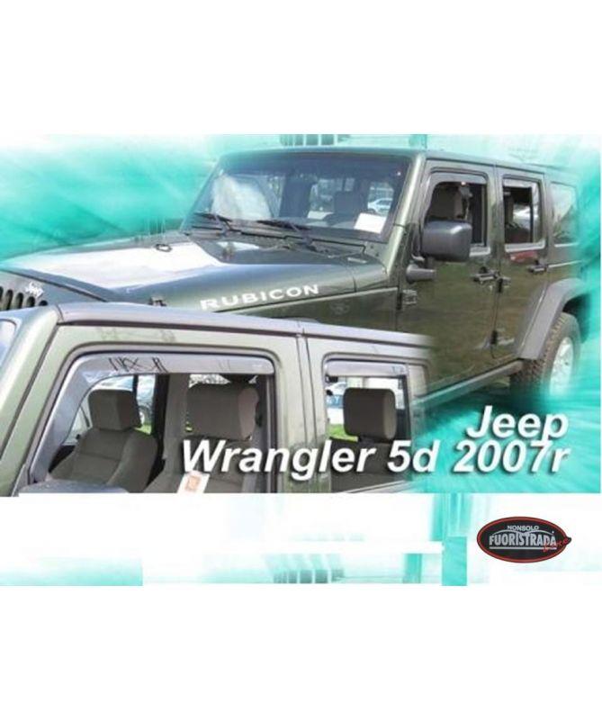Deflettori Aria Jeep Wrangler Jk 5 Porte