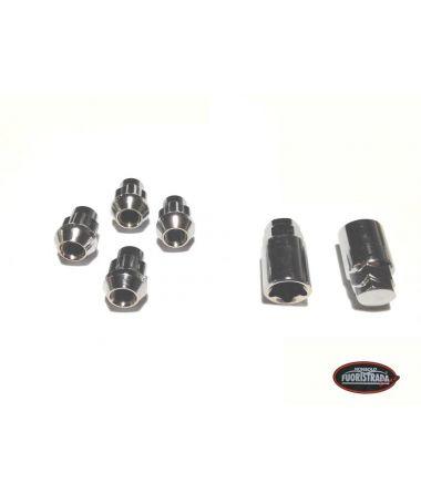KIT 4 dadi antifurto ruota M12X1.50